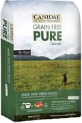 "Canidae - Сухой корм для собак, беззерновая формула ""Чистая земля"" (со свежим мясом бизона и ягнёнка) Grain Free Pure Land with Fresh Bison"