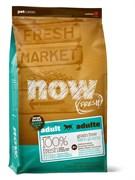 NOW Natural Holistic - Сухой корм беззерновой для взрослых собак крупных пород (с индейкой, уткой и овощами) Fresh Adult Large Breed Recipe Grain Free