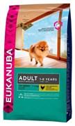 Eukanuba - Сухой корм для взрослых собак миниатюрных пород (курица) Dog Adult Toy Breed