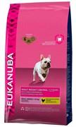 Eukanuba - Сухой корм для взрослых собак средних пород для контроля веса (курица) Dog Adult Weight Control Medium Breed