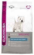 Eukanuba - Сухой корм для собак породы вест-хайленд-уайт-терьер (курица) Breed Specific West Highland White Terrier