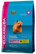 Eukanuba - Сухой корм для зрелых и пожилых собак мелких пород (курица) Dog Mature & Senior Small Breed