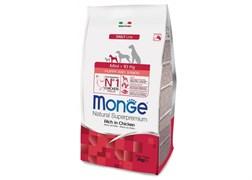 Monge - Сухой корм для щенков мелких пород (курица с рисом) Mini Puppy & Junior