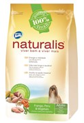 Naturalis Total Alimentos - Для взрослых собак малых пород с индейкой, курицей, коричневым рисом и овощами Naturalis Adult Dogs Turkey, Chicken and Vegetables Small Breeds