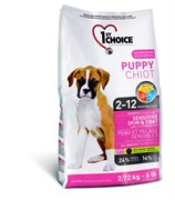 1St Choice - Сухой корм для щенков с чувствительной кожей и для шерсти (ягнёнок с рыбой и рисом)