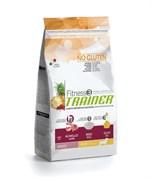 Trainer - Сухой корм для взрослых собак мелких пород (с ягненком и рисом) Fitness No Gluten Mini Adult Lamb and Rice