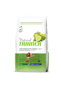 Trainer - Сухой корм для взрослых собак крупных пород (с сыровяленой ветчиной и рисом) Trainer Natural Maxi Adult