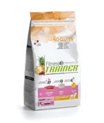 Trainer - Сухой корм для щенков средних и крупных пород (с уткой и рисом) Fitness No Gluten Medium/Maxi Puppy Duck and Rice