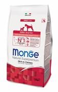 Monge - Сухой корм для новорожденных щенков мелких пород Dog Mini Starter