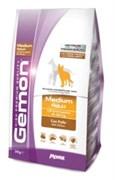 Gemon Dog - Сухой корм для взрослых собак средних пород (с курицей) Medium