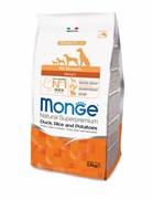 Monge - Сухой корм для собак всех пород (утка с рисом и картофелем) Dog Speciality