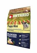 Ontario - Сухой корм для щенков малых пород (с курицей и картофелем) Puppy Mini Chicken & Potatoes