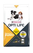 Opti Life (Versele-Laga) - Сухой корм для щенков (с курицей) Puppy Medium