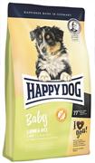 Happy Dog - Сухой корм для щенков (с ягненком и рисом) Baby Lamb and Rice
