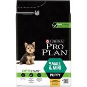 Purina Pro Plan - Сухой корм для щенков мелких и карликовых пород (с курицей  и рисом) OPTISTART