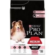 Purina Pro Plan - Сухой корм для взрослых собак средних пород с чувствительной кожей (с лососем и рисом)