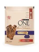 """Purina ONE - Сухой корм для собак мелких пород """"Моя Собака…Уже взрослая"""" (с говядиной и рисом)"""