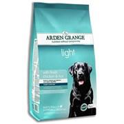 Arden Grange - Сухой диетический корм для взрослых собак Adult Dog Light