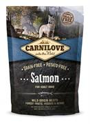 CarniLove - Сухой беззерновой корм для взрослых собак всех пород (лосось) Adult Salmon
