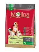 Molina - Сухой корм для щенков всех пород Puppy All Breed