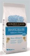 Golden Eagle - Сухой гипоалергенный беззерновой корм для собак 26/12 (с лососем) Hypo-allergenic Salmon & Potato