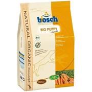 Bosch - Сухой органический корм для щенков Bio Puppy + Морковь