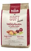 Bosch - Полнорационный корм для собак крупных пород (с кабаном и бататом) Soft Maxi