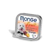 Monge - Консервы для собак (утка с апельсином) Dog Fruit