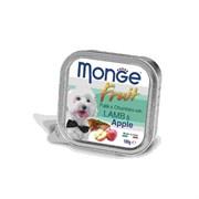 Monge - Консервы для собак (ягненок с яблоком) Dog Fruit