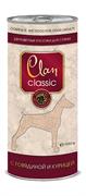 Clan Classic - Консервы для собак (кусочки в соусе с говядиной и курицей)