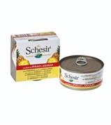 Schesir - Консервы для собак (цыплёнок с ананасом)