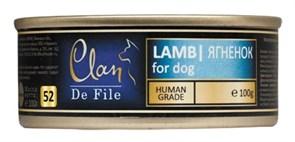 Clan De File - Консервы для собак (ягнёнок) № 51