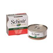 Schesir - Консервы для собак (филе цыплёнка с говядиной)