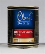 Clan De File - Консервы для собак (говядина) № 60