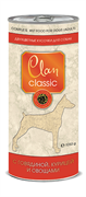 Clan Classic - Консервы для собак (кусочки в соусе с говядиной, курицей и овощами)