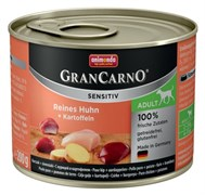 Animonda - Консервы для чувствительных собак (c курицей и картофелем) GranCarno Sensitiv
