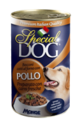 Special Dog - Консервы для собак (с кусочками курицы)