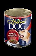 Special Dog - Консервы для собак (с кусочками говядины и овощами)