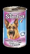 Simba Dog - Консервы для собак (кусочки ягненка)