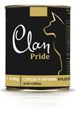 Clan Pride - Консервы для собак (рубец и печень говяжья) № 96