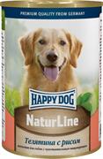 Happy Dog - Консервы для собак (с телятиной и рисом)