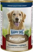 Happy Dog - Консервы для собак (с телятиной и сердцем)