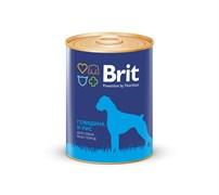 Brit - Консервы для собак (с говядиной и рисом) Premium BEEF&RICE