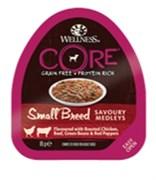 Wellness Core - Консервы для собак мелких пород (попурри из курицы, говядины с зеленой фасолью и красным перцем)