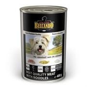 Belcando - Консервы для собак (отборное мясо с лапшой) Super Premium Quality Meat With Noodles