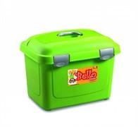 Stefanplast - Контейнер для хранения корма, 45х33х33см, 26л (зеленый) Bello Multiporpose Case Green