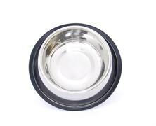 Benelux - Нескользящая стальная миска для собак 16см/21см - 550 мл