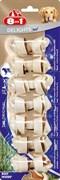 8in1 - Косточки с говядиной для мелких собак 7,5х7 шт. DELIGHTS Beef XS