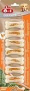 8in1 - Косточки сверхпрочные с куриным мясом для мелких собак 7,5 смх7 шт. DELIGHTS Strong XS