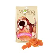 """Molina - Лакомство для собак """"Куриные чипсы"""""""